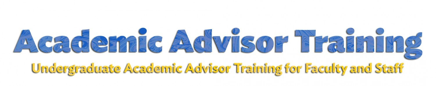 Academic Advisor Training